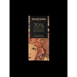 70% Cacao Ecuador 70 gr